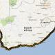 SA Map with kayak route