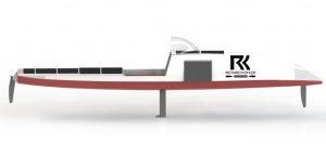 kayak design Richard Kohler side view
