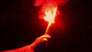 handheld flare